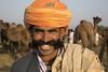 Mr. Moustache (Rolandito.) Tags: india inde indien rajasthan pushkar camel fair man moustache portrait