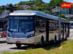 6 1334 Viação Cidade Dutra (busManíaCo) Tags: busmaníaco nikond3100 nikon d3100 ônibus urbano caioinduscar viaçãocidadedutra caio millennium brt articulado mercedesbenz o500uda bluetec 5