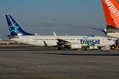 F-GZHI (Air Transat) (Steelhead 2010) Tags: airtransat boeing b737 b737800 transavia yyz freg fgzhi