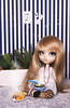 Lunch Time with Lili (--Ariana--) Tags: pullip full custom fc blonde hair leeke coolcat obitsu casual outift pretty cute lunch rements