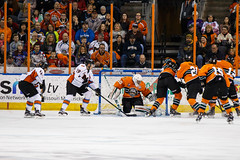 "Missouri Mavericks vs. Quad City Mallards, December 31, 2016, Silverstein Eye Centers Arena, Independence, Missouri.  Photo: John Howe / Howe Creative Photography • <a style=""font-size:0.8em;"" href=""http://www.flickr.com/photos/134016632@N02/31715500120/"" target=""_blank"">View on Flickr</a>"