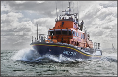 To the Rescue (rogermccallum) Tags: lifeboat rescue sea solent danger rnli royalnationallifeboatinstitution roundtheislandrace sail sailing sinking