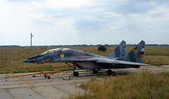 "MiG-29UB Fulcrum 2 • <a style=""font-size:0.8em;"" href=""http://www.flickr.com/photos/81723459@N04/31896760664/"" target=""_blank"">View on Flickr</a>"