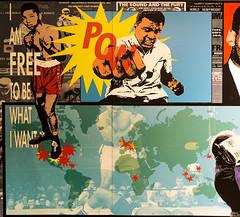 Muhammad Ali (vcostanz) Tags: memphistennessee muhammadali nationalcivilrightsmuseum worldheavyweightchampion boxing worldheavyweightboxing boxer popart mural boxinglegend