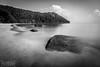 Costa de Penang (Damián Chiappe) Tags: asia malasia penang parquenacionalpulaupenang isla mar playa largaexposición blancoynegro roca island sea beach longexposure blackandwhite rock
