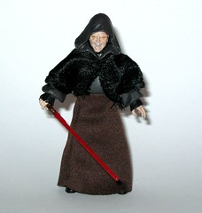 VC12 darth sidious star wars the vintage collection revenge of the sith hasbro 2010 f (tjparkside) Tags: vc12 darth sidious vc tvc 12 twelve star wars vintage collection episode 3 iii three rots revenge sith palpatine senator september 2010 wave 2 lightsaber red force lightning removable hood soft goods stole skirt yoda mace windu duel robe robes vest blue action figure figures hasbro