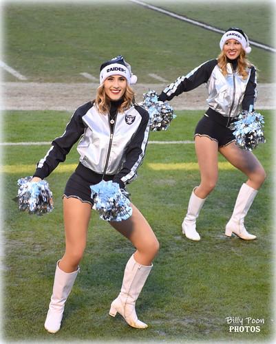 2016 Oakland Raiderettes Tess & Mandy