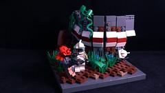 Mission 10.2 - Chaos on Cularin (Ψik') Tags: lego star wars clone cularin trooper 253rd elite legion tarasin rubble