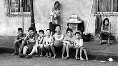 Manila Scenes and People (51) (momentspause) Tags: ricohgr ricoh blackandwhite bw manila philippines kids man woman people smiles travel travelphotography