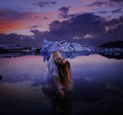 When Dreams Take Hold (Leah Johnston) Tags: leahjohnston leahjohnson selfportrait iceland jokulsarlon jokulsarlonlagoon icelandselfportraits glacier glaciallagoon leahjohnstonphotography