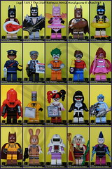 LEGO 71017 The LEGO Batman Movie Minifigures (KatanaZ) Tags: lego71017 thelegobatmanmovieminifigures lobsterlovin'batman glammetalbatman fairybatman clanofthecavebatman vacationbatman barbaragordon commissionergordon thejokerarkhamasylum dickgrayson pinkpowerbatgirl redhood theeraser nurseharleyquinn orca zodiacmaster catman marchharriet thecalculator kingtut themime lego batman minifigures minifig