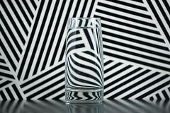 Refraction Lines (nophoto4jojo) Tags: activeassignmentweekly nikon d700 sb600 umbrella strobist water glass refraction