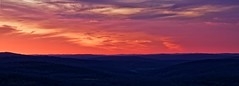 Sky on fire - Ciel en feu (Sébastien Vermande) Tags: canon7d france midipyrénées lot hiver winter coucherdesoleil sunset panorama panoramic paysage landscape brouillard fog mist nature vallée valley ciel sky nuages clouds sigma1770exdc vermande