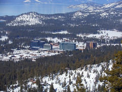 Heavenly Mountain Resort view of the  south shore casinos (GMLSKIS) Tags: ski laketahoe heavenly snow