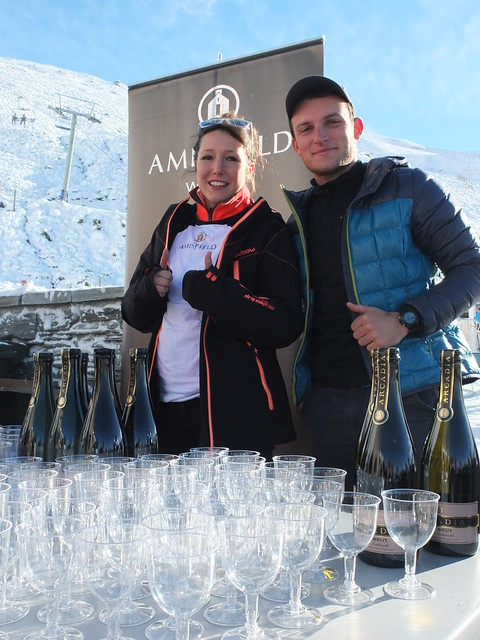 Treble Cone Opening Day 2014 - Amisfield Winemakers