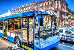 Tram (Kev Walker ¦ 8 Million Views..Thank You) Tags: stpetersburg russia hdr 2015 kevinwalker