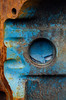 Some Blue (JeffStewartPhotos) Tags: blue ontario canada junk rust peeling paint rusty rusted rusting junkyard peel wreck rockwood wreckers mcleans mcleansautowreckers walkingwithdavidw