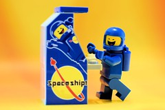 Benny's old Spaceship! (Lesgo LEGO Foto!) Tags: man cute guy love fun toy toys cool nikon lego space spaceman benny minifig collectible minifigs nikkor omg collectable minifigure minifigures legomovie classicspaceman spaceguy d5300 legophotography legography collectibleminifigures collectableminifigure 1980somethingspaceguy 60mmf28drmicro