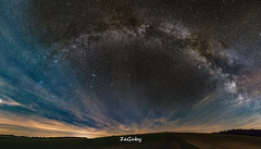 Colors of the night (ZeGaby) Tags: nature champagne panoramic etoiles milkyway k3 longexposuretime voielactée astrometrydotnet:status=failed pentaxk3 sigma1835mmf18art astrometrydotnet:id=nova1144112