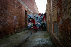 (th3butcherofbilbao) Tags: street leica art melbourne ropar
