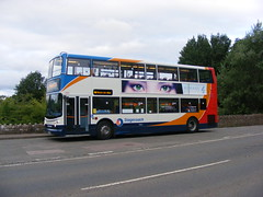 8th July 2015 (Ben Coulson) Tags: ross 33 july herefordshire stagecoach doubledecker wilton trident rossonwye riverwye dennistrident 18180 alx400 stagecoachwest mx54lpc