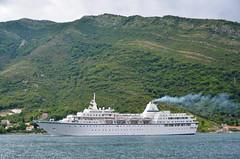 Montenegro (scuba_dooba) Tags: cruise mountain black water boat europe mediterranean ship south hill aegean croatia east mountainside balkans odyssey peninsula eastern montenegro mv balkan
