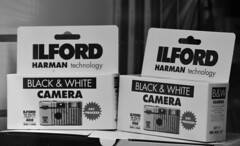 Ilford (DSC_4714) (AngusInShetland) Tags: bw film 35mm scotland negative xp2 ilford shetland lerwick commercialstreet singleusecamera xp2super400 thecamerashop canoscan5600f