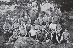 Norra ngby Folkskola, klass 6a, vrterminen 1937 (Olle Sundh) Tags: stockholm norra skola klass bromma svv skolfoto ngby folkskola skolbarn vultejusvgen
