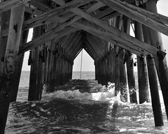 Pier 3 (CDE1231) Tags: ocean beach water island photography pier nc oak cde