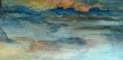 Iceland exploring dreams (Ker Kaya) Tags: iceland ice art aquarelle abstract water watercolor watercolour waves sunrise reflection painting fz200 kerkaya light blue bleu landscape seascape nature dreams fdekerkaya ker kaya artist photography dmcfz200 kerkayaphotography