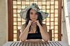Pomeriggio d'estate (Celeste Messina) Tags: summer portrait sun selfportrait hat self estate autoritratto panama sole ritratto pucci cappello emiliopucci celestemessina