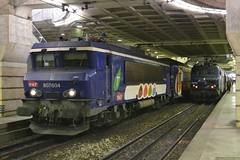 SNCF Transilien 7604 & 27310 (Will Swain) Tags: travel paris france train de french europe gare transport july rail railway des 9th montparnasse railways franais socit parisian fer sncf nationale transilien 2015 chemins 7604 27310