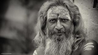 Ascetic on the Ganga Ghaat