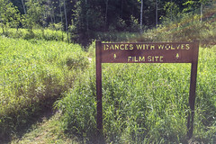 Dances With Wolves Film Site (GlobalGoebel) Tags: black film sign southdakota forest site with unitedstates scene canyon hills national lead wolves iphone dances spearfish kevincostner tatanka scenicdrive danceswithwolves filmsite iphoneography iphone6