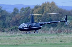 G-FCUM (LIAM J McMANUS - Manchester Airport Photostream) Tags: gfcum heli helicopter barnesholdings barnes robinson r44 raven robinsonr44 ravenii cityairportmanchester barton egcb