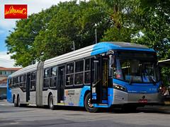 6 1755 Viação Cidade Dutra (busManíaCo) Tags: busmaníaco nikond3100 nikon d3100 ônibus urbano caioinduscar viaçãocidadedutra caio millennium brt articulado mercedesbenz o500uda bluetec 5