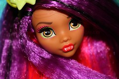A Doll A Day #2017 (day #3) (Galaxy @ Mharena) Tags: electrified clawdeen wolf monster high doll