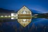 Dalmunach Distillery (avaird44) Tags: distillery aberlour moray scotland pond reflection design whisky blue grass
