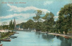 Thorpe, Norwich (mgjefferies) Tags: england norfolk thorpe norwich broads yare river 1904