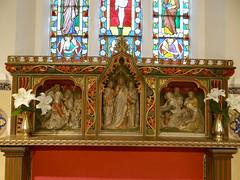 Church Lench, Worcestershire (Sheepdog Rex) Tags: reredos allsaintschurch churchlench