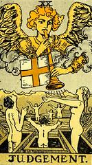 Judgement (~ Lone Wadi ~) Tags: judgement tarot tarotcards occult blackmagic fortune telling sorcery retro 1910s