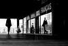At the fashion's house (pascalcolin1) Tags: paris13 femme woman reflets reflection mode fashion maisondelamode fashionshouse glace miroir mirrors photoderue streetview urbanarte noiretblanc blackandwhite photopascalcolin