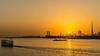 Burj Khalifa view from Dubai Festival city (Raji PV) Tags: dubai uae rajipv raji philipose burj khalifa boat sun set sunset