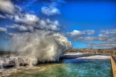 Liquid Cloud (Michael F. Nyiri) Tags: sanpedro southerncalifornia california clouds waves sea ocean canonflickraward