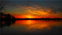 Evening Sky (Ostseetroll) Tags: deu deutschland geo:lat=5403690816 geo:lon=1070089148 geotagged pönitzamsee scharbeutz schleswigholstein pönitzersee sonnenuntergang sunset spiegelungen reflections wasser water wolken clouds