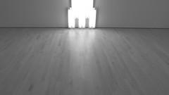 A14080 / dan flavin (detail, b/w) at sfmoma (janeland) Tags: sanfrancisco california 94103 sfmoma sanfranciscomuseumofmodernart danflavin minimalist light sculptor monumentforvtatlin fluorescent may 2016 desaturated bw blackandwhite