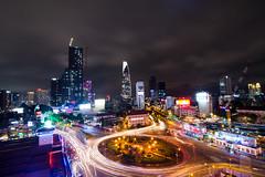 Saigon traffic (~Teemu~) Tags: nikon d7100 saigon traffic tokina1116mm lights vietnam