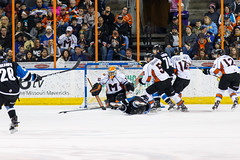 "Missouri Mavericks vs. Wichita Thunder, January 7, 2017, Silverstein Eye Centers Arena, Independence, Missouri.  Photo: John Howe / Howe Creative Photography • <a style=""font-size:0.8em;"" href=""http://www.flickr.com/photos/134016632@N02/31872455640/"" target=""_blank"">View on Flickr</a>"
