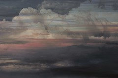 in charge of sunsets (RhinoSkin) Tags: sweetgrass hills montana altitude clouds merged