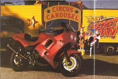 Triumph 900/1200 Daytona 1996 (bebopalieuday) Tags: triumph daytona 900 1200 1996 motorbike motorcycle catalogue 885cc 1180cc